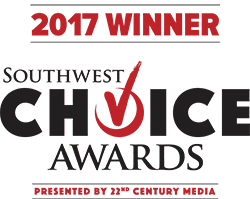2017 Winner of Southwest Choice Awards
