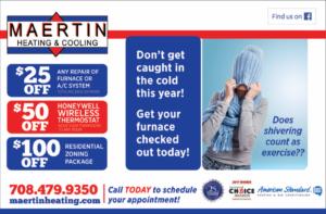 Maertin heating coupon